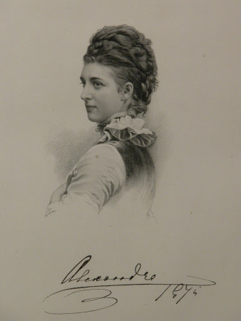 Queen Alexandra (1844–1925) as Princess of Wales (after Peterson and Co.)