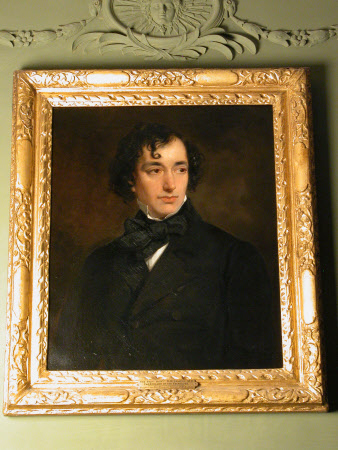 Benjamin Disraeli, Earl of Beaconsfield, PC, FRS, KG (1804-1881) as a Young Man