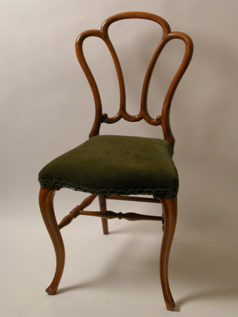 A set of eight maple chairs, English, circa 1860