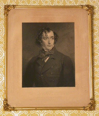Benjamin Disraeli, 1st Earl of Beconsfield, MP, PC, FRS, KG (1804-1881) (after Sir Francis Grant ...