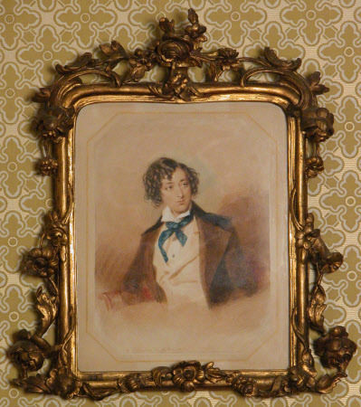 Benjamin Disraeli, 1st Earl of Beconsfield, MP, PC, FRS, KG (1804-1881) as a Young Man