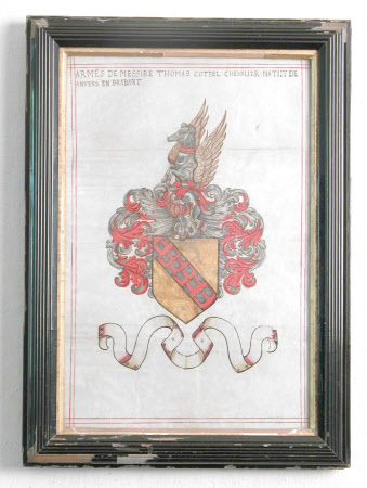 Coat-of-arms of Thomas Cotehele of Brabant