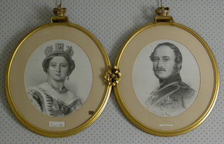 Queen Victoria (1819-1901) and Prince Albert, Prince Consort (1819-1861)