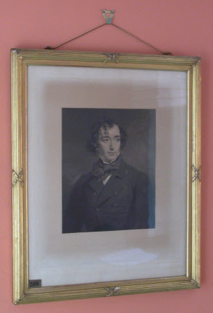 Benjamin Disraeli, 1st Earl of Beconsfield, MP, PC, FRS, KG (1804-1881) as Chancellor of the ...