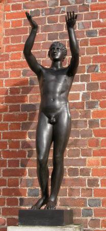 Classical Male Nude Figure