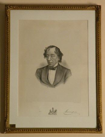 Benjamin Disraeli, 1st Earl of Beconsfield, MP, PC, FRS, KG (1804-1881)