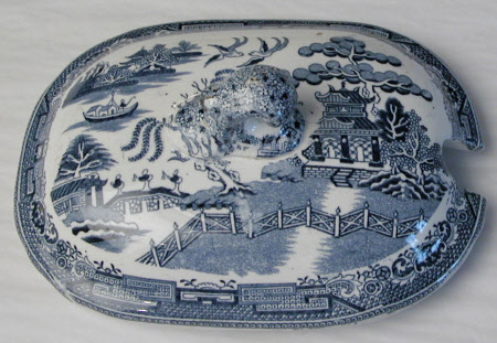 Butter dish cover