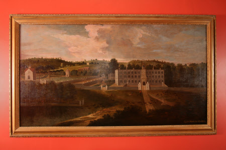 A View of Lyme Hall from the North