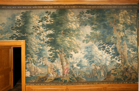 Verdures with Bacchic Figures