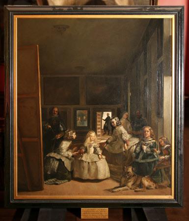'Las meniñas' (after Velázquez)