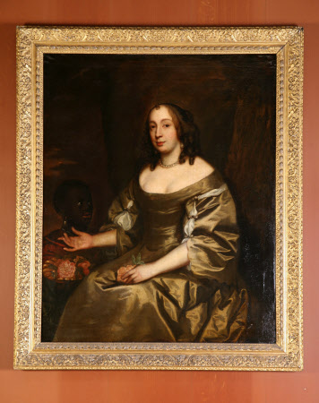 The Hon. Anne Coventry, Lady William Savile, later Lady Thomas Chicheley (d.1662) and Page