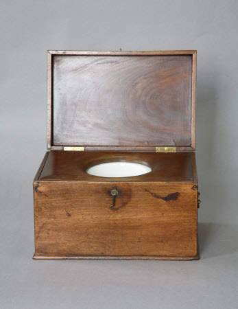 Child's travelling commode