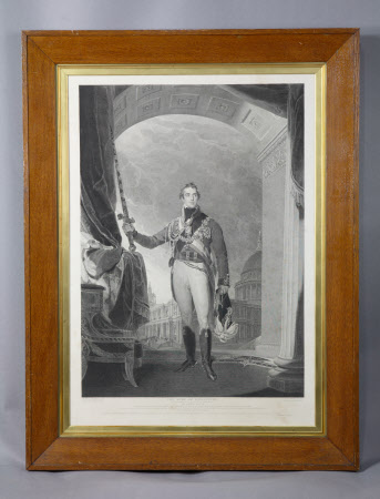 Arthur Wellesley, 1st Duke of Wellington KG, KB, MP (1769-1852) at St Paul's Cathedral, ...