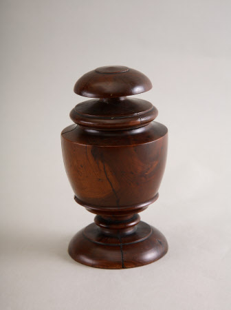 Pedestal jar cover