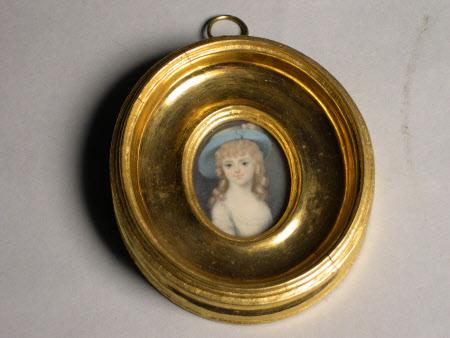 Frances Bankes, Lady Brownlow (1756 – 1847) as a Child