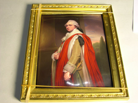 Sir Brownlow Cust, 1st Baron Brownlow FSA, FRS, MP (1744 – 1807) (after George Romney)