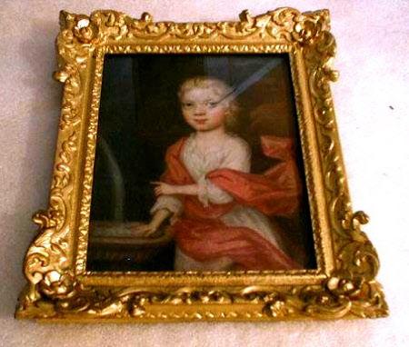 Savile Cockayne Cust (1698-1772) as a child
