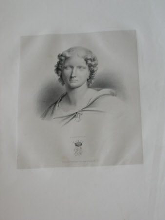 Female Head, by Sir Richard Westmacott RA (after Henry Corbould)