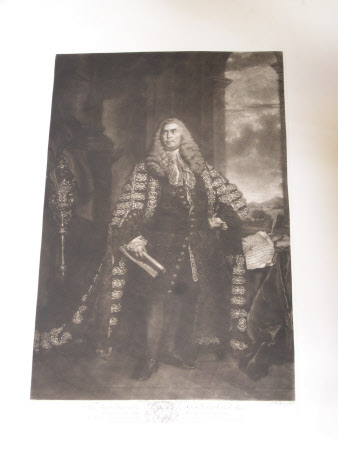 The Hon. Sir John Cust, 3rd Bt of Pinchbeck and 6th Bt of Humby (1718-1770) (after Sir Joshua ...