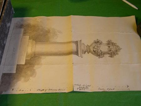 'The Alford Memorial' to John Hume Egerton, Viscount Alford (1812-1851)
