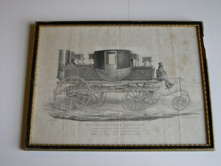 Mr Gurney's Steam Carriage