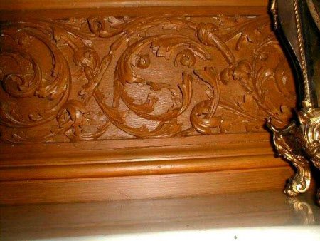 Carved panel