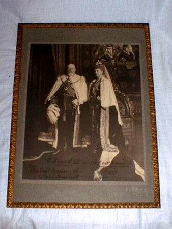 King Edward VII (1841-1910) and Queen Alexandra (1844-1925)