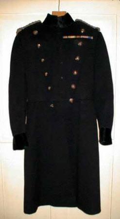 Military overcoat