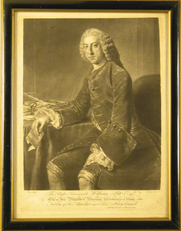 William Pitt the elder, 1st Earl of Chatham (1708-1778) (after William Hoare of Bath)