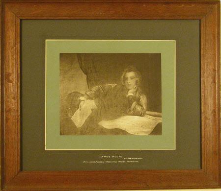 General James Wolfe (1727-1759) by Benjamin West