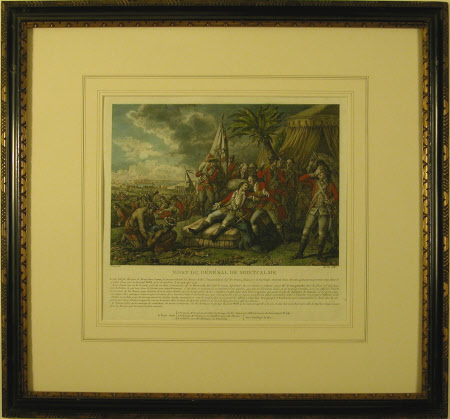The Death of General Louis-Joseph de Montcalm-Gozon, Marquis de Saint-Veran (1712-1759)