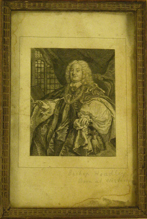 Benjamin Hoadly (1676-1761) Bishop of Winchester (after William Hogarth)