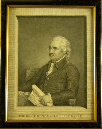 Colonel, the Right Honourable Isaac Barré, MP (1726-1802) (after Gilbert Stuart)