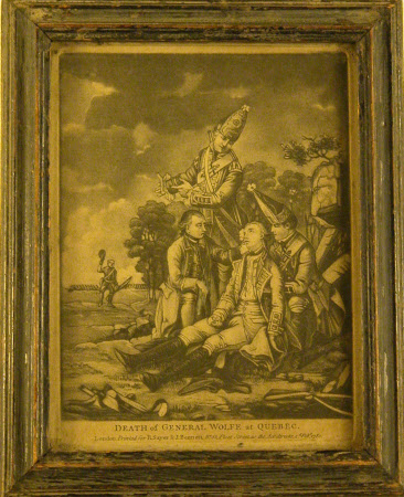 The Death of General James Wolfe (1727-1759) at Quebec