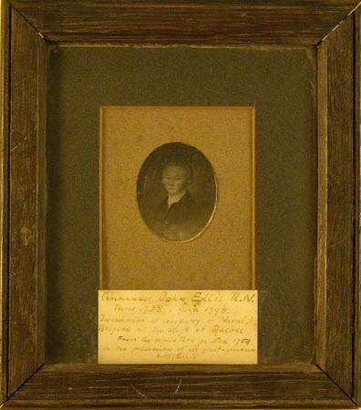 Commander John Ellis, RN (1738-1798)