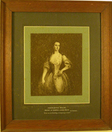 Henrietta Thompson, Mrs Edward Wolfe (1704-1764) by Thomas Hudson