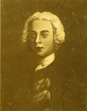 General James Wolfe (1727-1759), aged 15