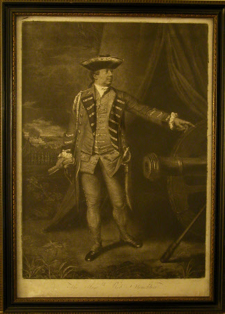 Major-General The Honourable Robert Monckton, (1726-1782) at the Taking of Martinique, 1762. (after ...