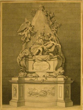 Monument to General James Wolfe (1727-1759) by Joseph Wilton, 1772, Westminster Abbey, London