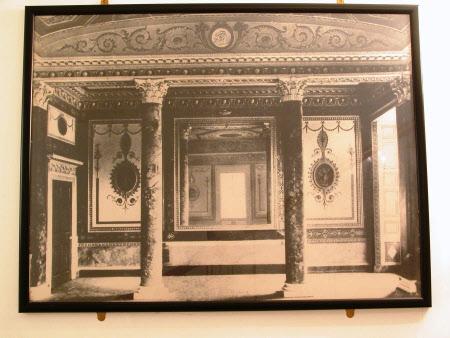 Dining Room alcove, Basildon Park, 1838-1857