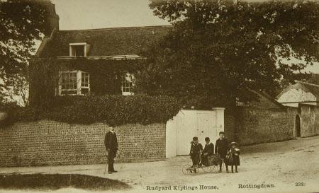 Kipling's house at Rottingdean