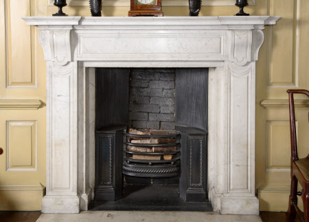 Chimneypiece, Tea Room, Dunham Massey