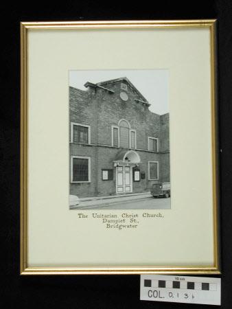 Dampier Street, Bridgwater Unitarian Church exterior - built 1688, altered 1788.
