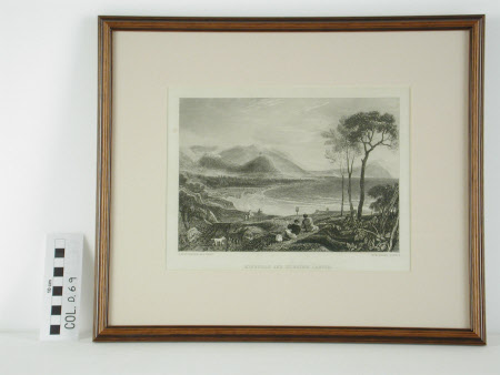 Minehead and Dunster Castle, Somerset (after Joseph Mallord William Turner, RA)