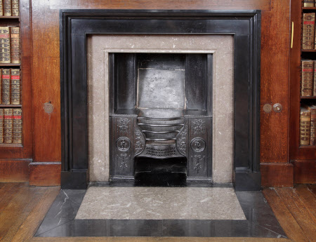Chimneypiece, Library, Dunham Massey