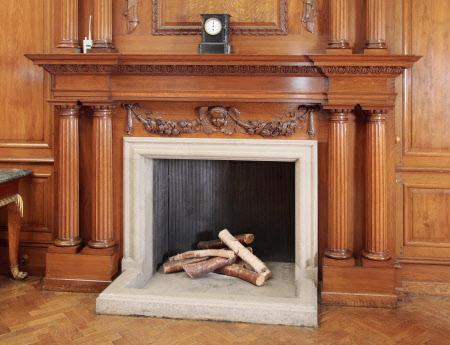 Chimneypiece, Dining Room, Duunham Massey