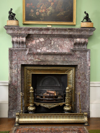 Chimneypiece, Saloon, Dunham Massey