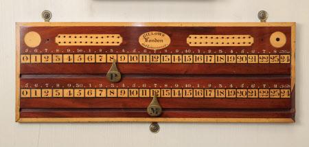 Billiard scoreboard