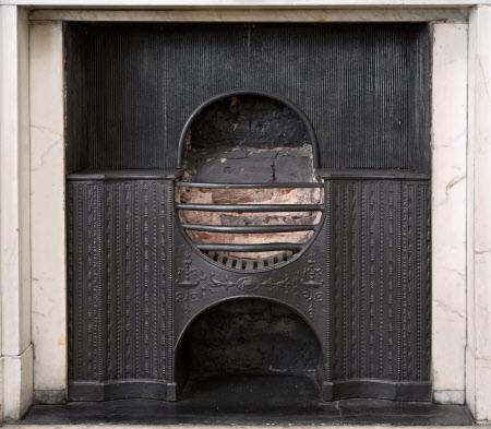 Chimneypiece, Green Silk Room, Dunham Massey