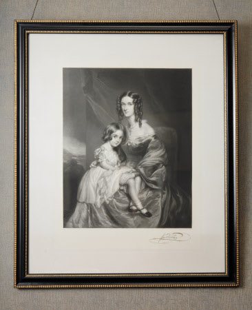 Jane Grey, Lady Ormathwaite (1804-1877) and her daughter Maria Katherine Walsh (after Sir Francis ...